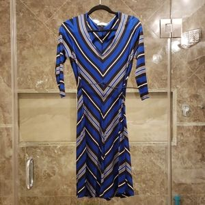 Calvin Klein A-line dress